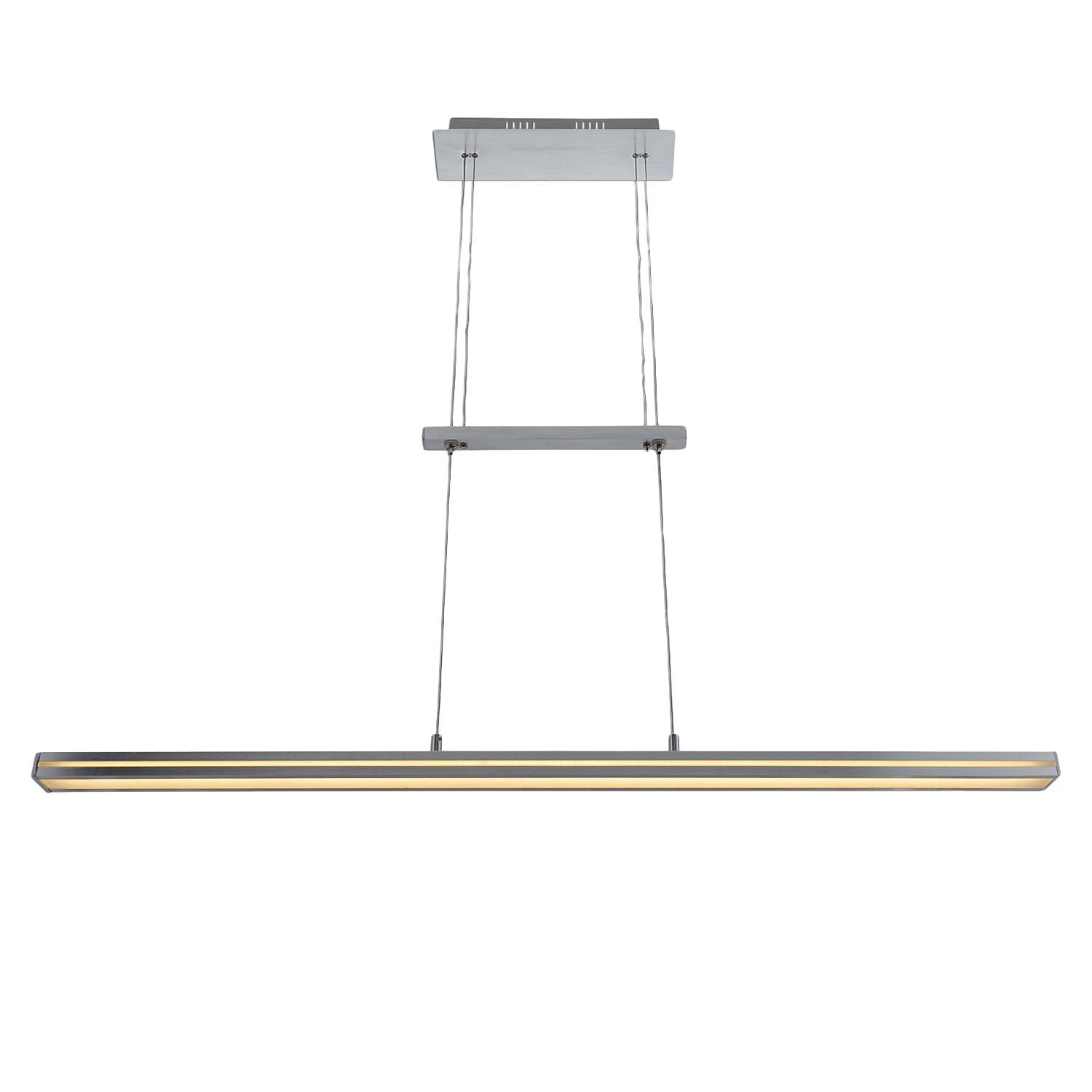LED-Pendelleuchte Acrylico | Lampen > Deckenleuchten > Pendelleuchten | Silber | Kunststoff - Metall | Naeve