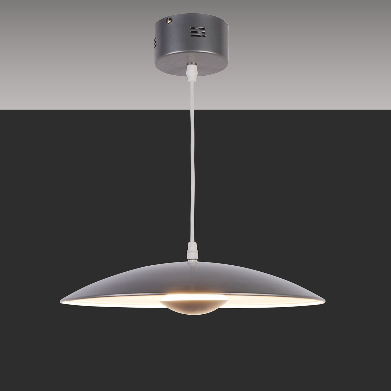 home24 LED-Pendelleuchte Ufo