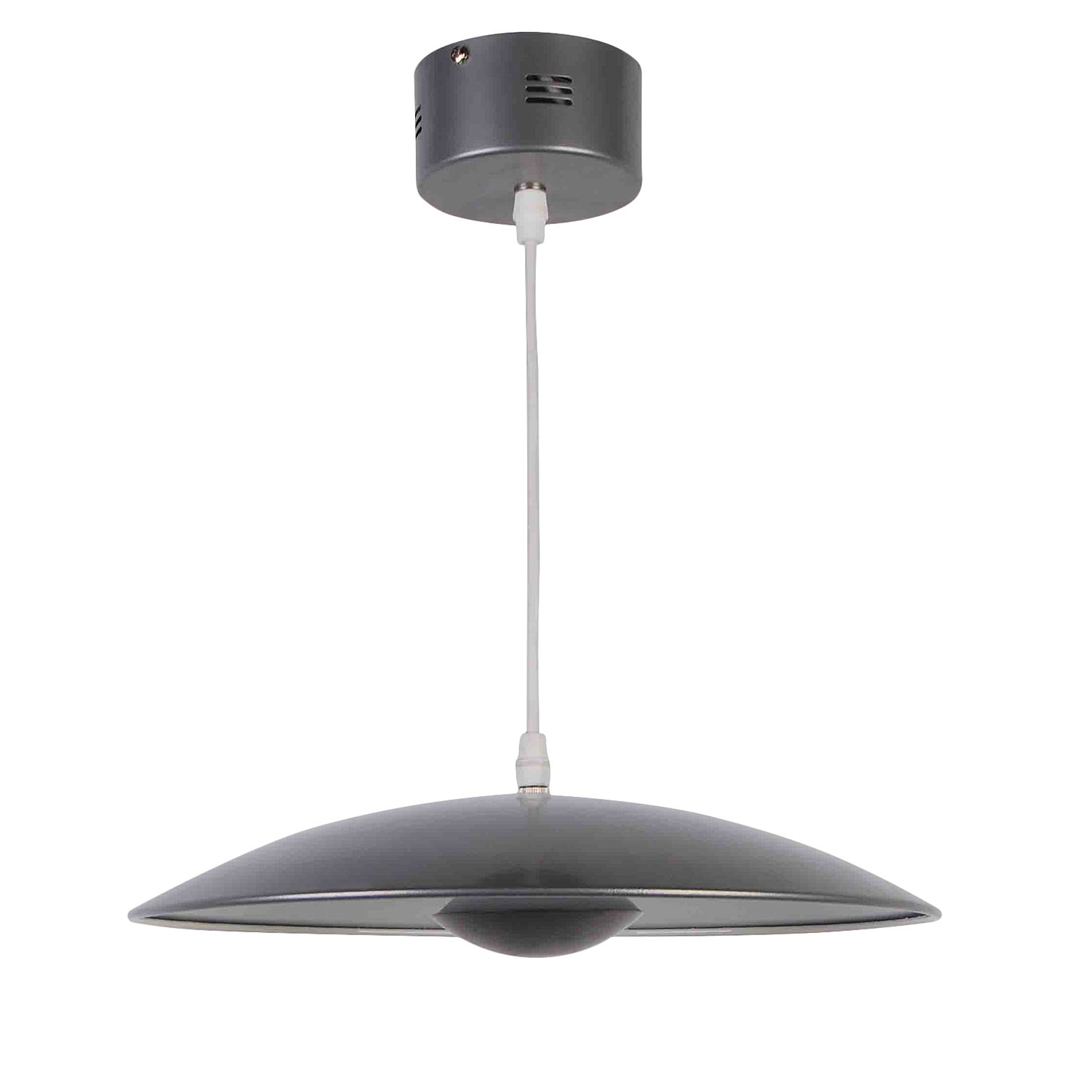 home24 LED-Pendelleuchte Ufo