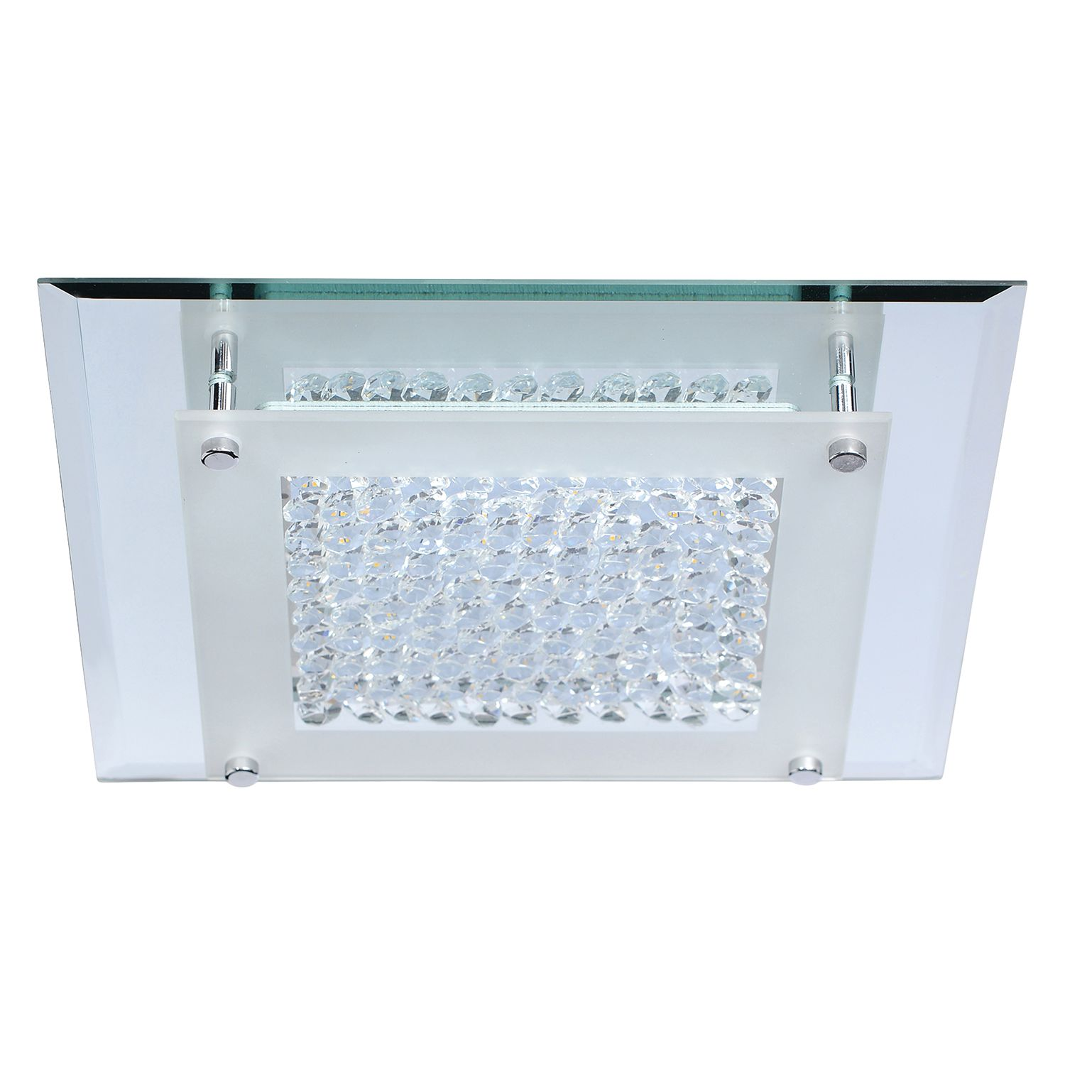 home24 LED-Deckenleuchte Diamond II