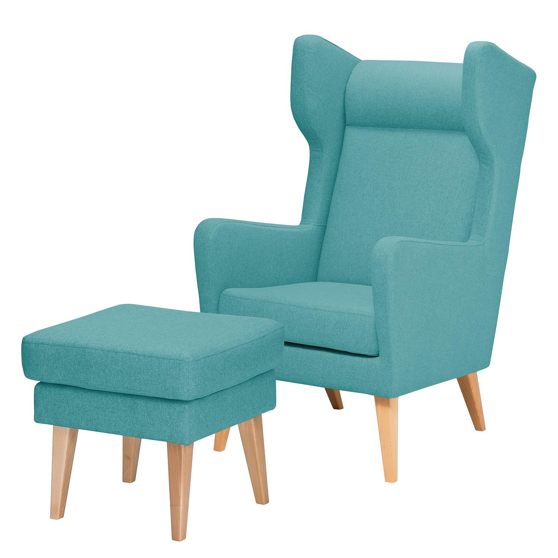 tuerkis ohrensessel online kaufen m bel suchmaschine. Black Bedroom Furniture Sets. Home Design Ideas