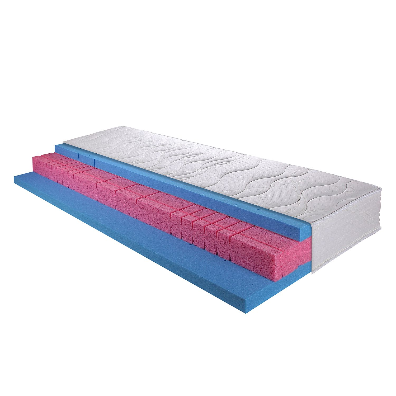 Koudschuimmatras met gel Ortho Air Gi, Breckle