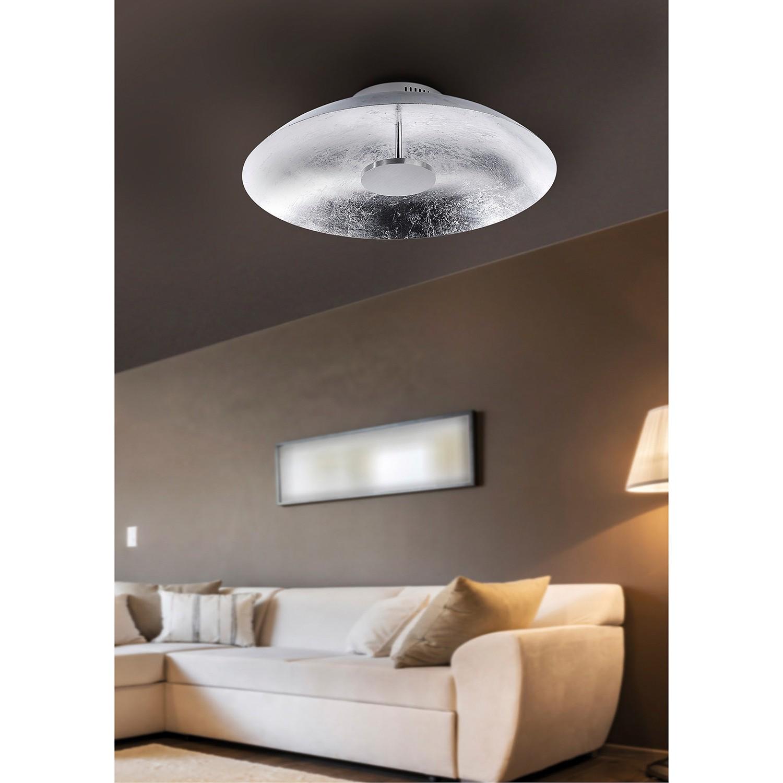 home24 LED-Deckenleuchte Plate Leaf