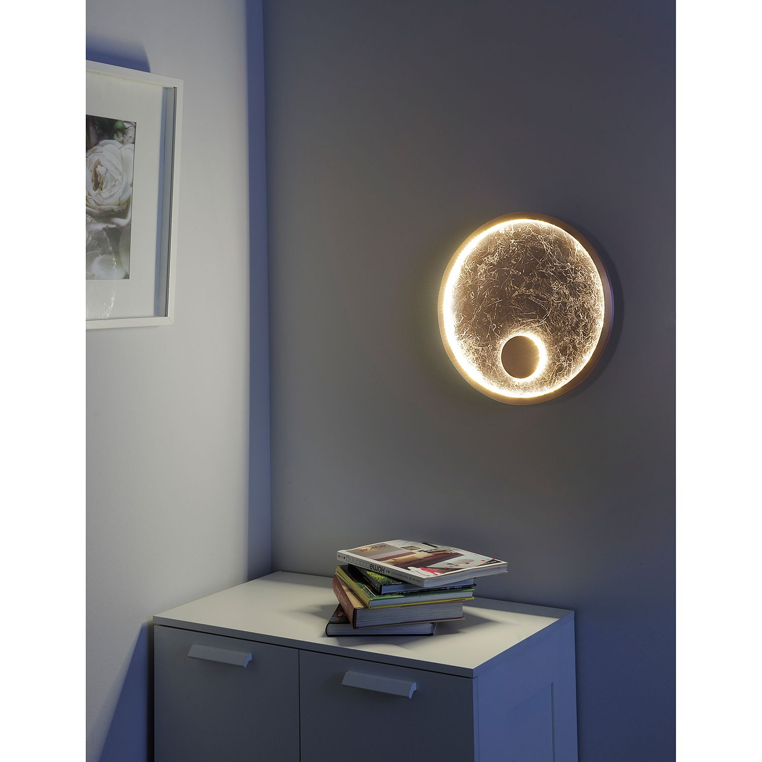 Led-wandlamp Luna Grand
