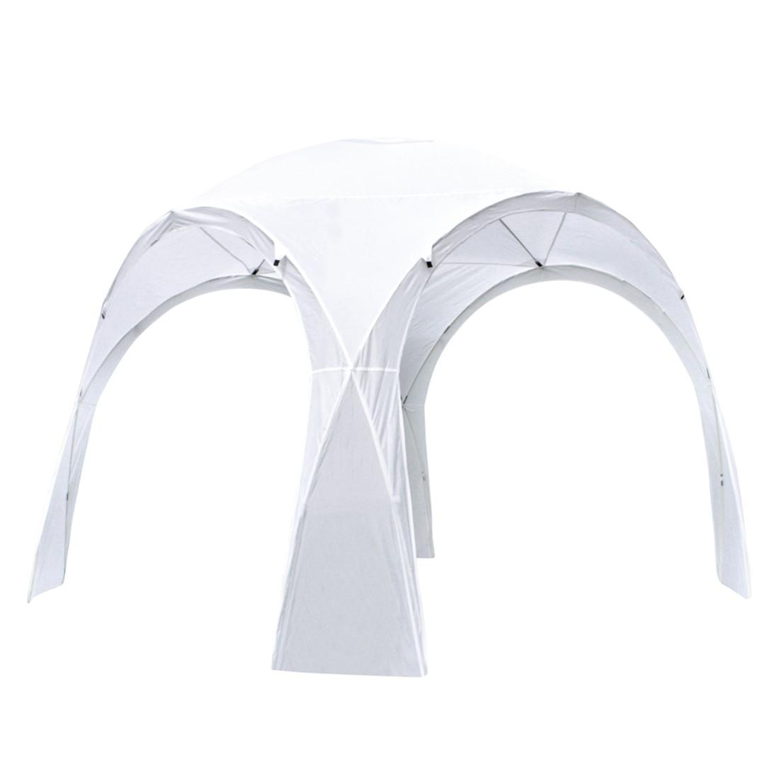 Pavillon Ardin - Polyethylen - Weiß, Garden Pleasure