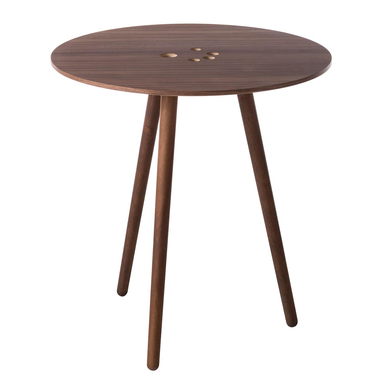 Table d'appoint Eldena II - Placage noyer véritable, Studio Copenhagen