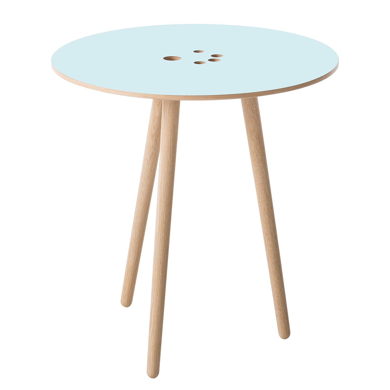 Table d'appoint Eldena I - Bleu pastel / Chêne clair, Studio Copenhagen
