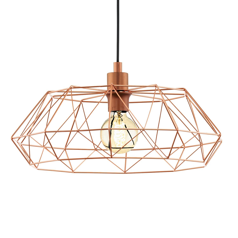 pendelleuchte carlton iv stahl 1 flammig m bel lampen leuchten shopping. Black Bedroom Furniture Sets. Home Design Ideas