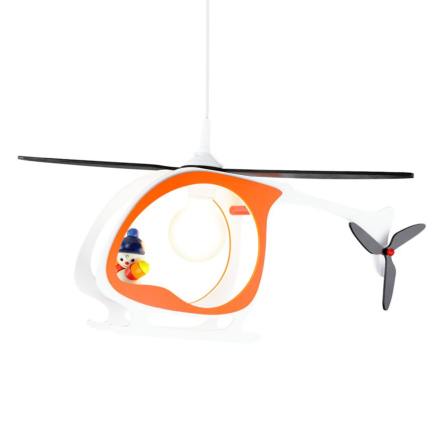 Lampadario a forma di elicottero Kasper, Elobra