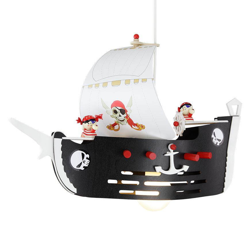 Suspension bateau de pirates