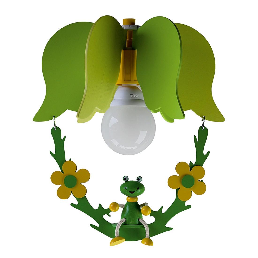 Lampada da soffitto Altalena con rana, Elobra