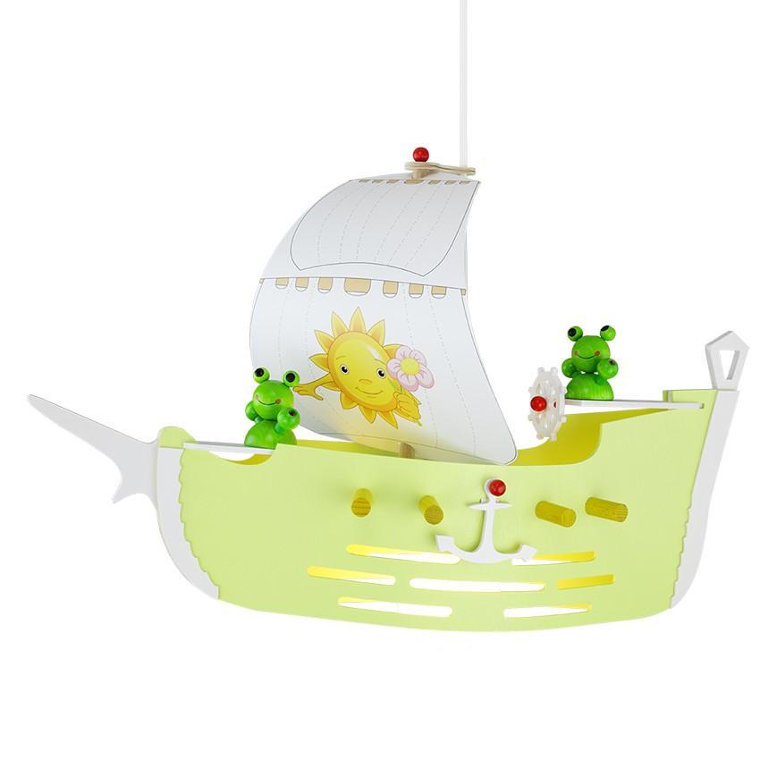 home24 Pendelleuchte Segelschiff
