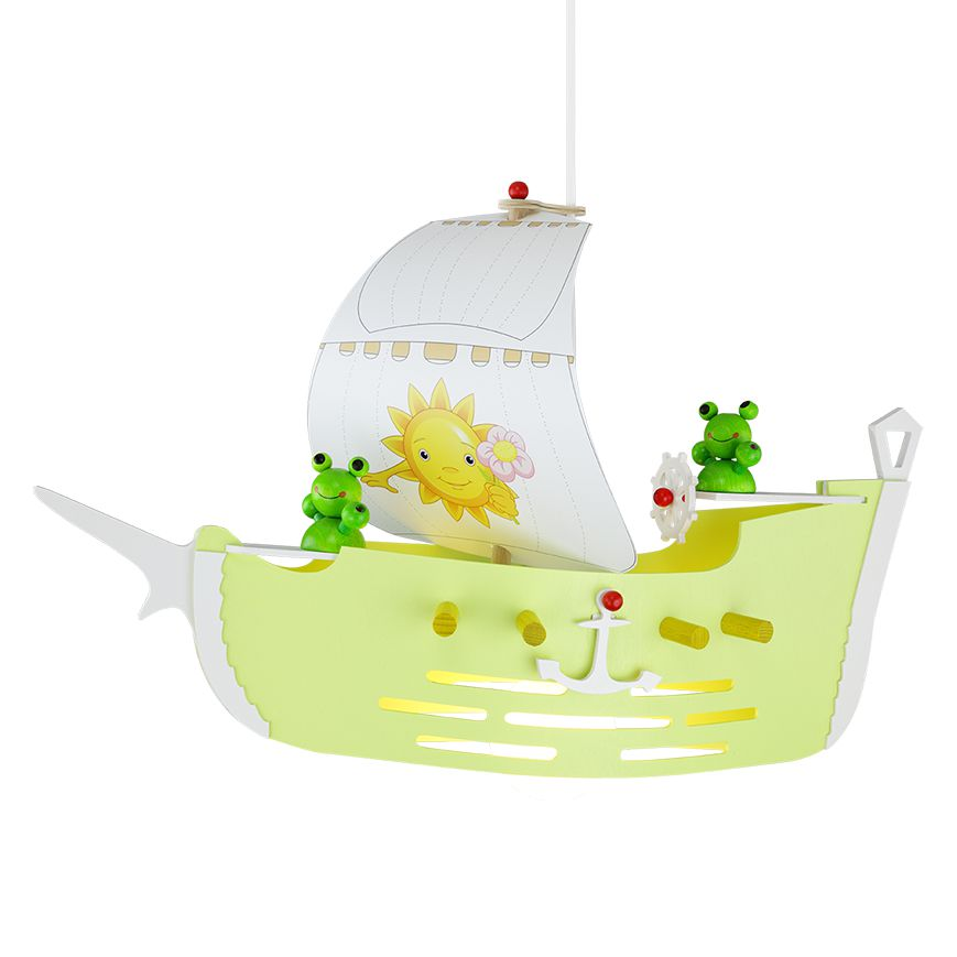 Lampada a sospensione barca vela, Elobra