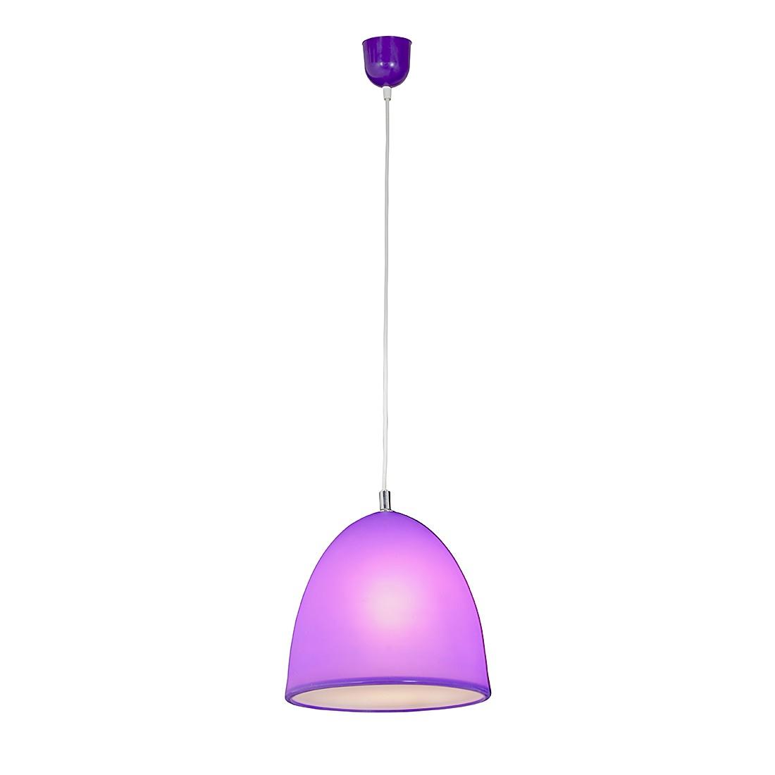 EEK A++, Pendelleuchte Tepsa - Silikon - 1-flammig - Violett, Näve