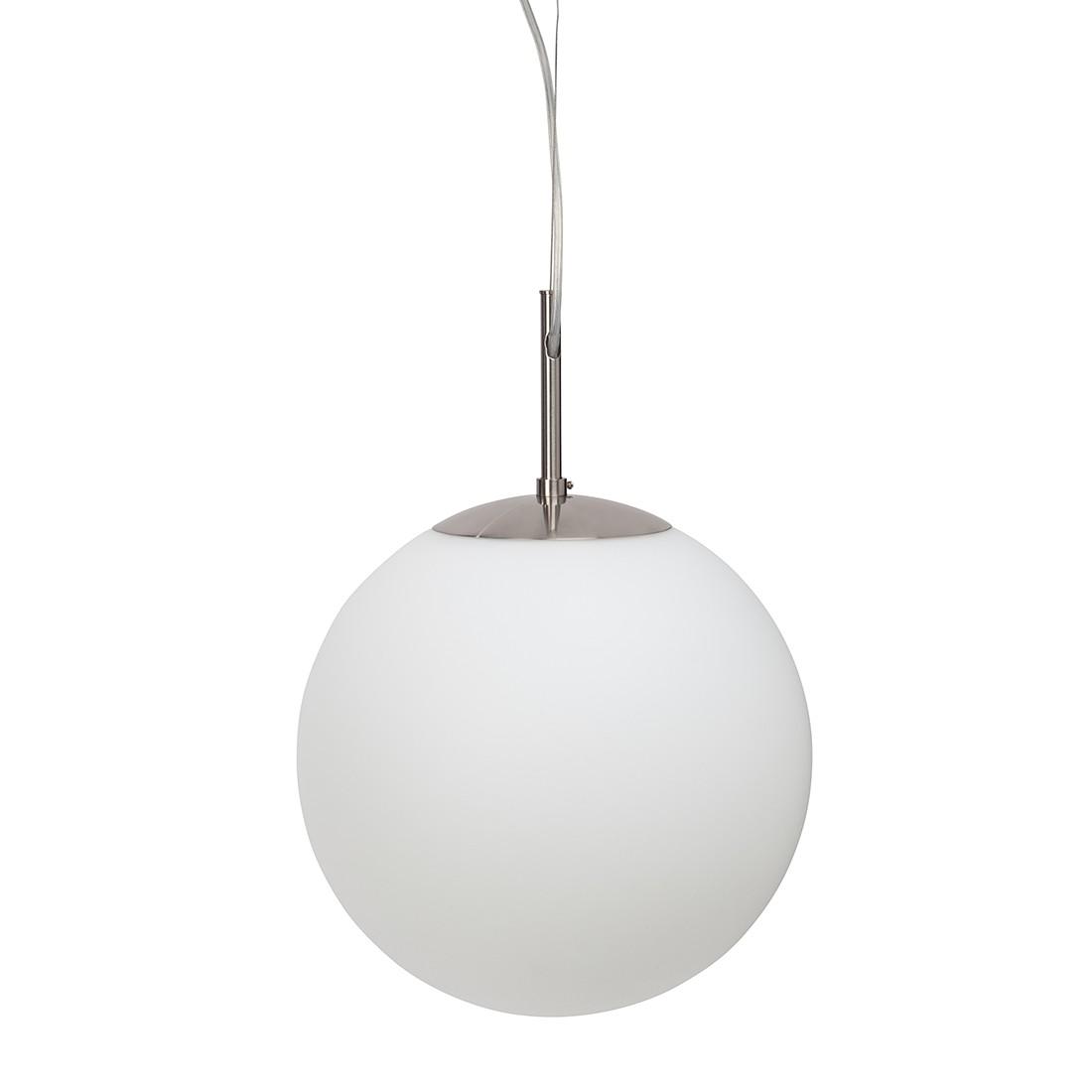 EEK A++, Pendelleuchte Sun - Metall - Weiß - 1-flammig, Brilliant