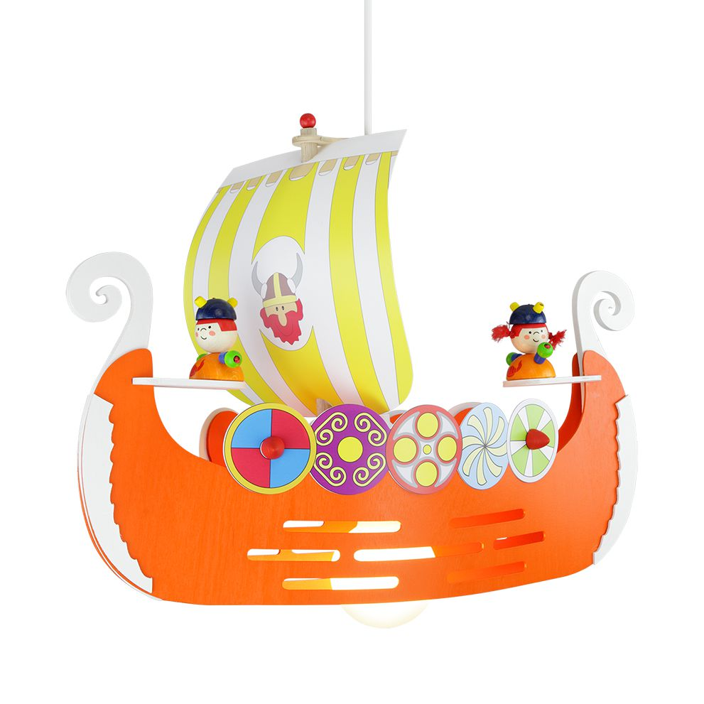 Pendelleuchte Wikingerschiff