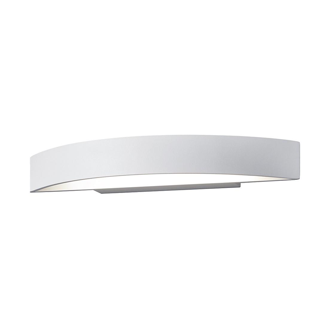 home24 LED-Wandleuchte Yona II Aluminium