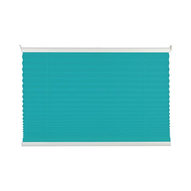 home24 Plissee Free III   Heimtextilien > Jalousien und Rollos   Blau   Textil   mydeco