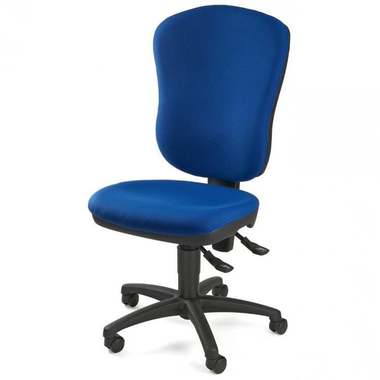 home24 Drehstuhl Point 80   Büro > Bürostühle und Sessel  > Bürostühle   Blau   Topstar