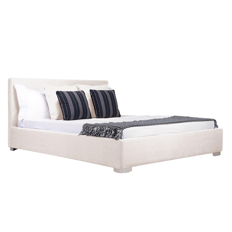 Polsterbett Aralia I | Schlafzimmer > Betten > Polsterbetten | Beige | Textil | Studio Copenhagen