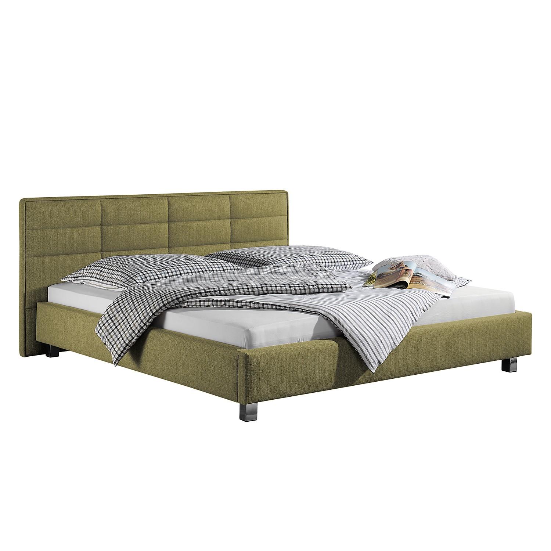 goedkoop Gestoffeerd bed Parsberg 180 x 200cm Pistache groen Monaco
