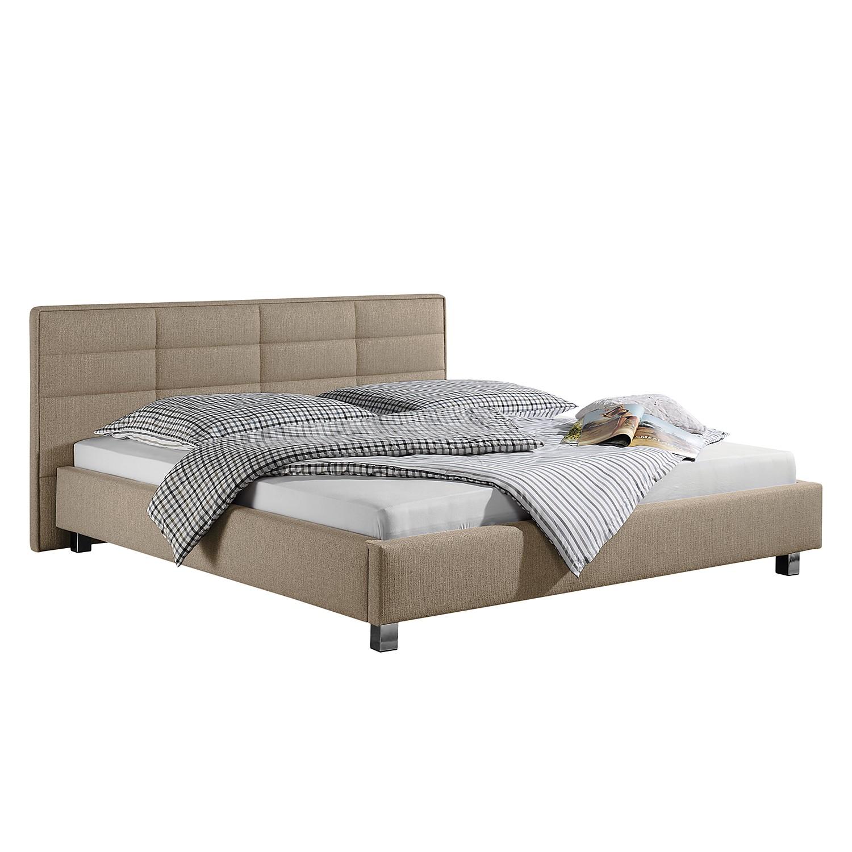 goedkoop Gestoffeerd bed Parsberg 180 x 200cm Cappuccinokleurig Monaco