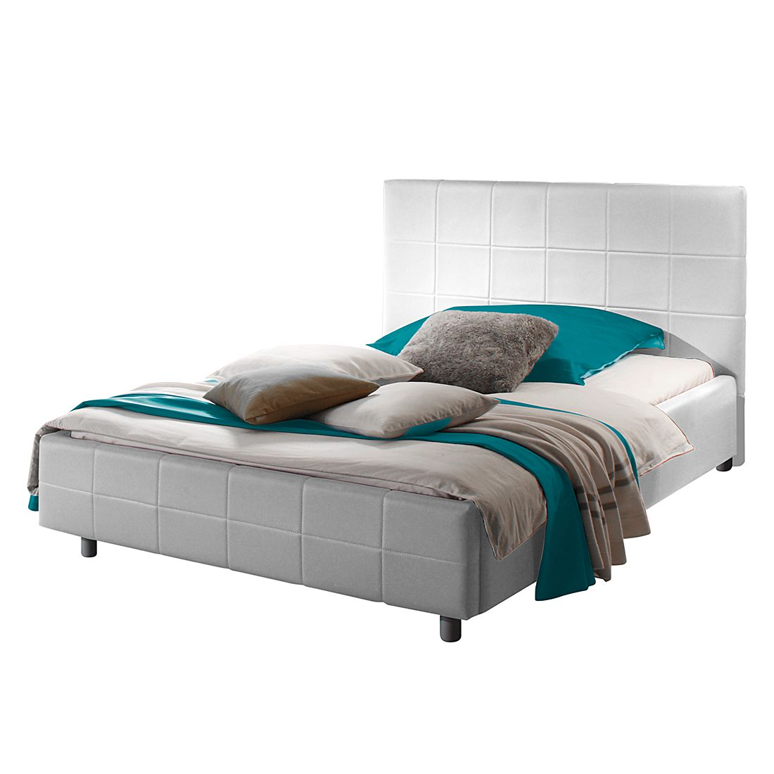 Gestoffeerd bed Smart, LC Mobili