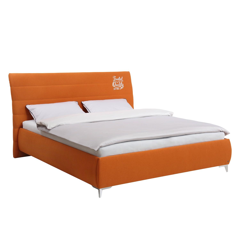 Lit Soft Line - Tissu - 200 x 200cm - Tissu TIM3 orange, Tom Tailor