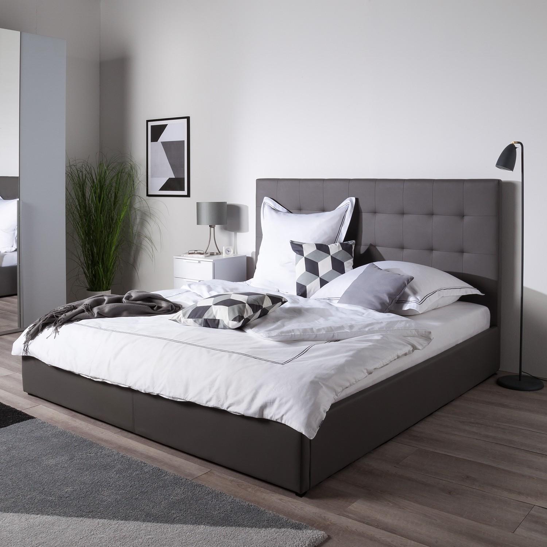 30 sparen polsterbett sugot inkl bettkasten von fredriks nur 279 99 cherry m bel home24. Black Bedroom Furniture Sets. Home Design Ideas
