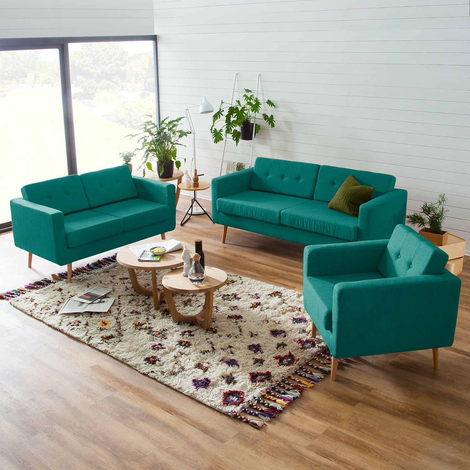 Home24 Fauteuil Croom V, Moerteens
