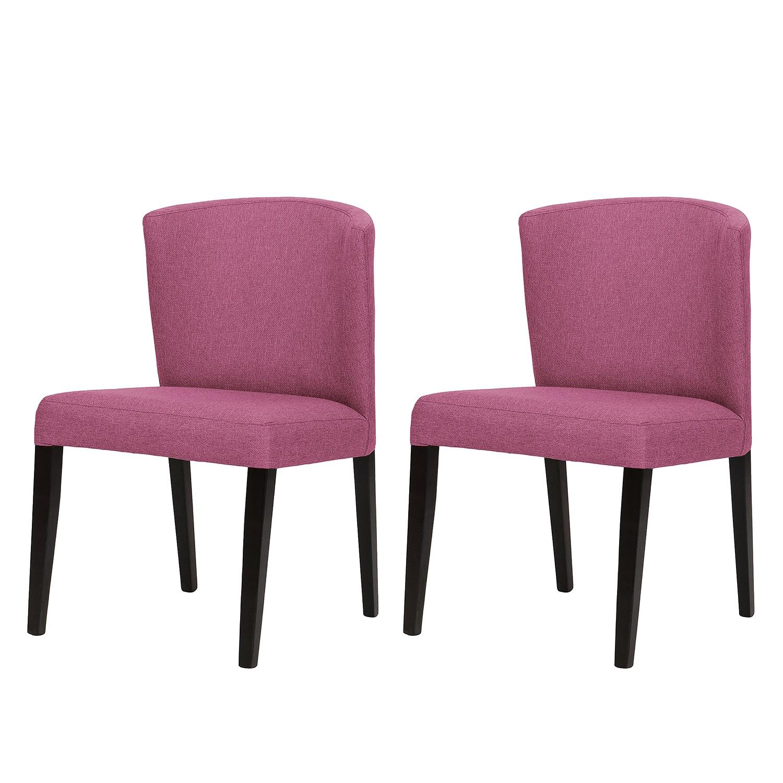 Polsterstuhl Lydia (2er-Set) | Küche und Esszimmer > Stühle und Hocker > Polsterstühle | Pink | Textil | Studio Copenhagen