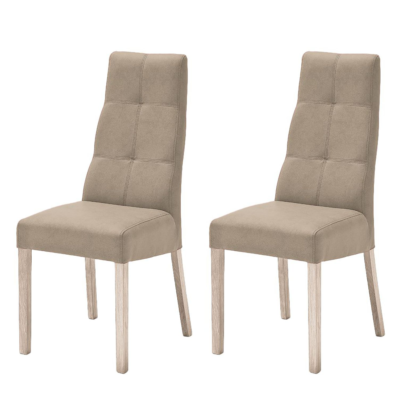 Home24 Gestoffeerde stoelen Funny II, Ars Natura