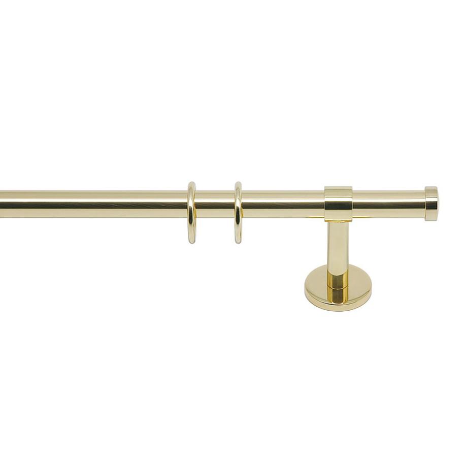 home24 Gardinenstange Paolo (1-lfg) X | Heimtextilien > Gardinen und Vorhänge > Gardinenstangen | Gold | Metall | indeko