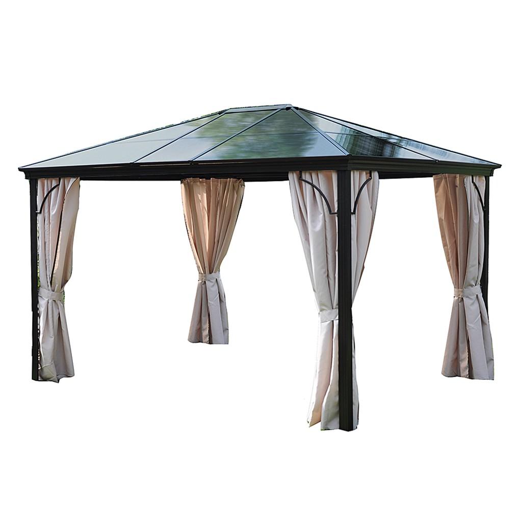home24 Profi-Pavillon Boss | Garten > Pavillons | Beige | Leco