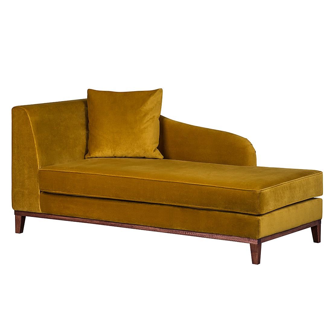 home24 Recamiere Blomma   Wohnzimmer > Sofas & Couches > Recamieren   Gelb   Textil   Jack und Alice