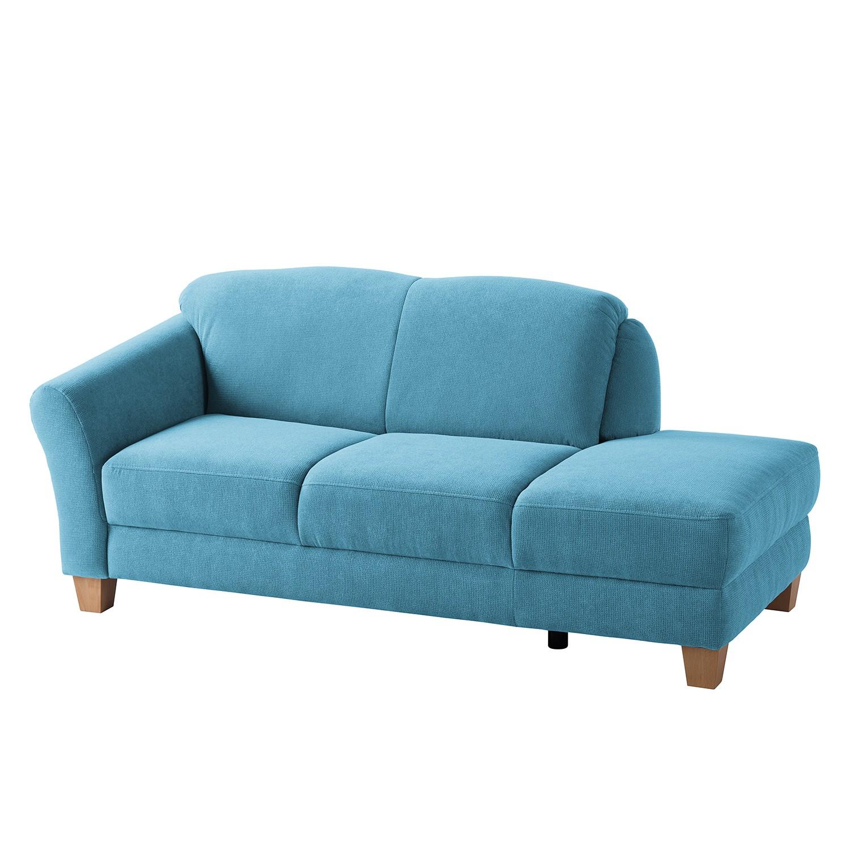 Recamiere Cebu Webstoff | Wohnzimmer > Sofas & Couches > Recamieren | Blau | Textil | Maison Belfort