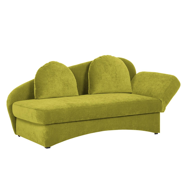 Recamiere Eresburg Velours | Wohnzimmer > Sofas & Couches > Recamieren | Gruen | Textil | Ridgevalley