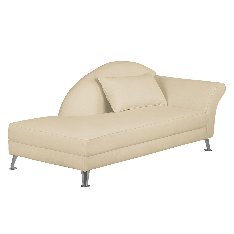 home24 Recamiere Kendale III Webstoff   Wohnzimmer > Sofas & Couches > Recamieren   Beige   Textil   loftscape