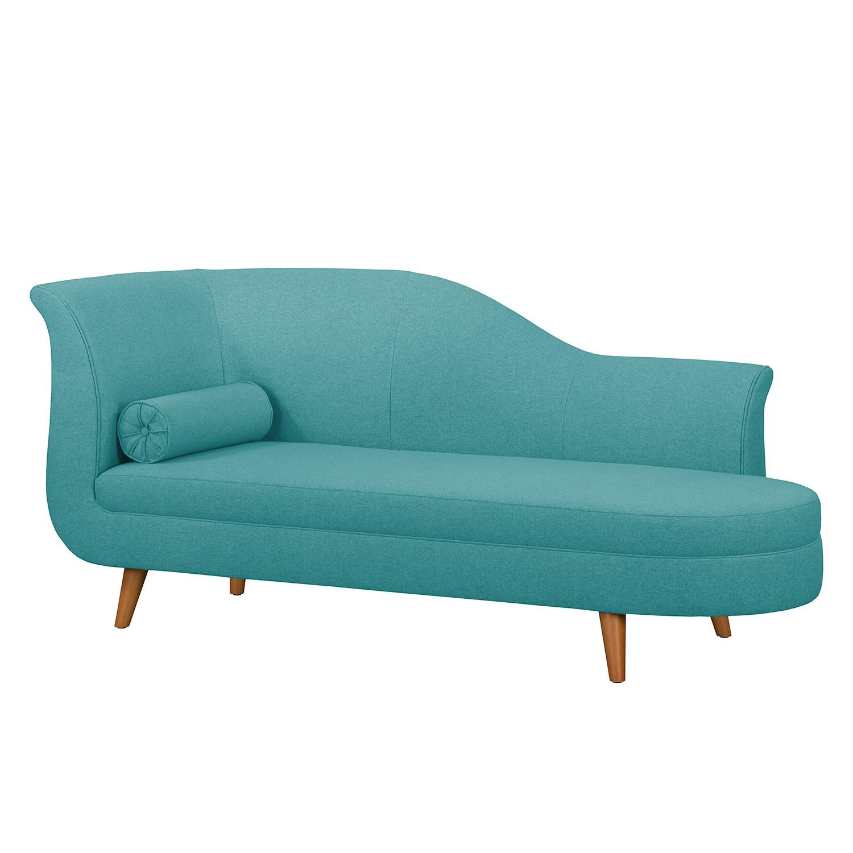 Recamiere Malli Webstoff | Wohnzimmer > Sofas & Couches > Recamieren | Blau | Textil | Moerteens