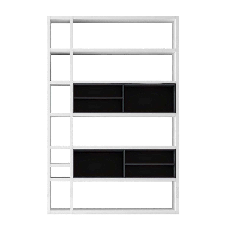scrapeo etag re ikea kallax brun noir et tr s bon tat vendre. Black Bedroom Furniture Sets. Home Design Ideas