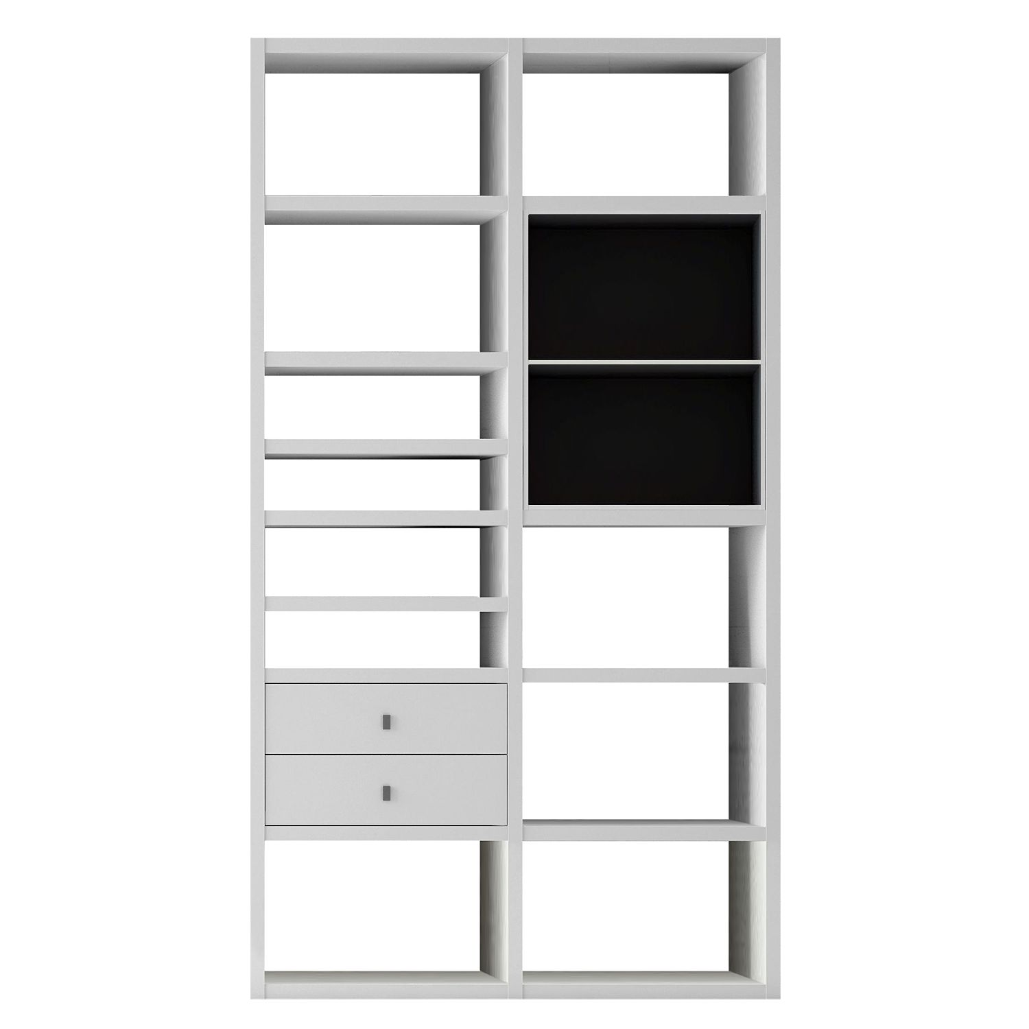 scrapeo etag re ikea kallax brun noir et tr s bon tat vendre. Black Bedroom Furniture Sets. Home Design Ideas