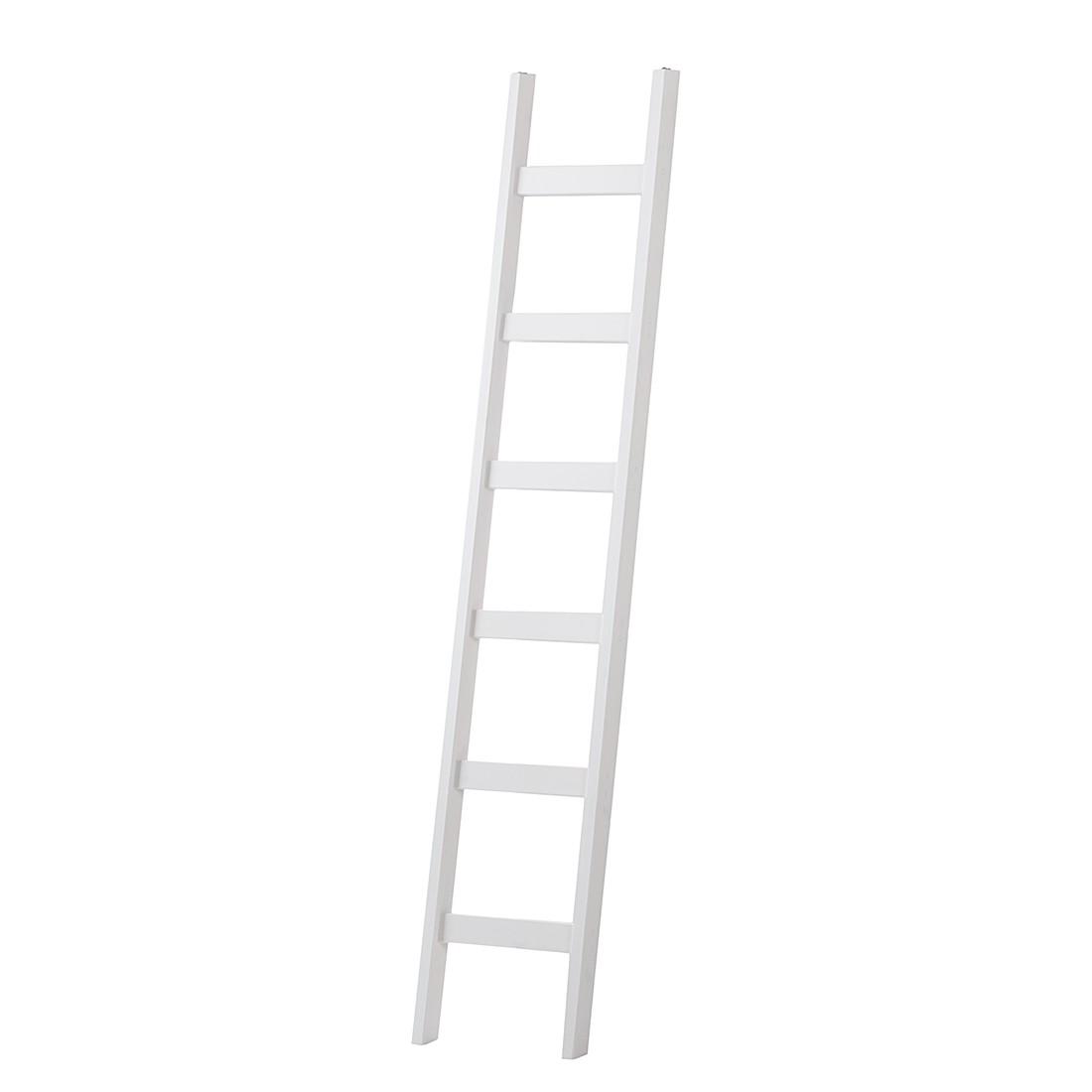 Ladder Lillehammer massief grenenhout wit, Lars Larson