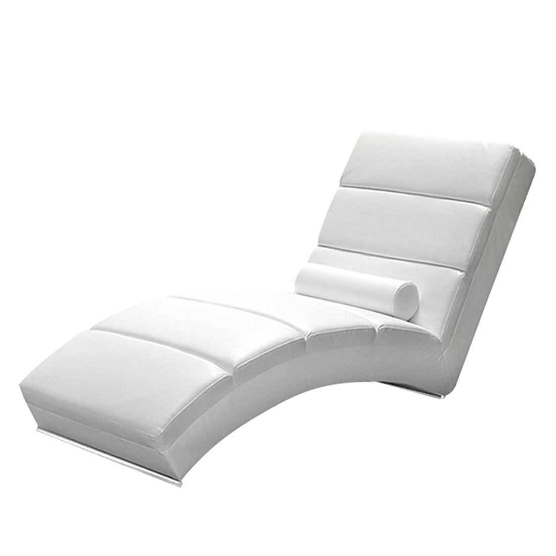 goedkoop Relaxfauteuil Alicante wit kunstleer California