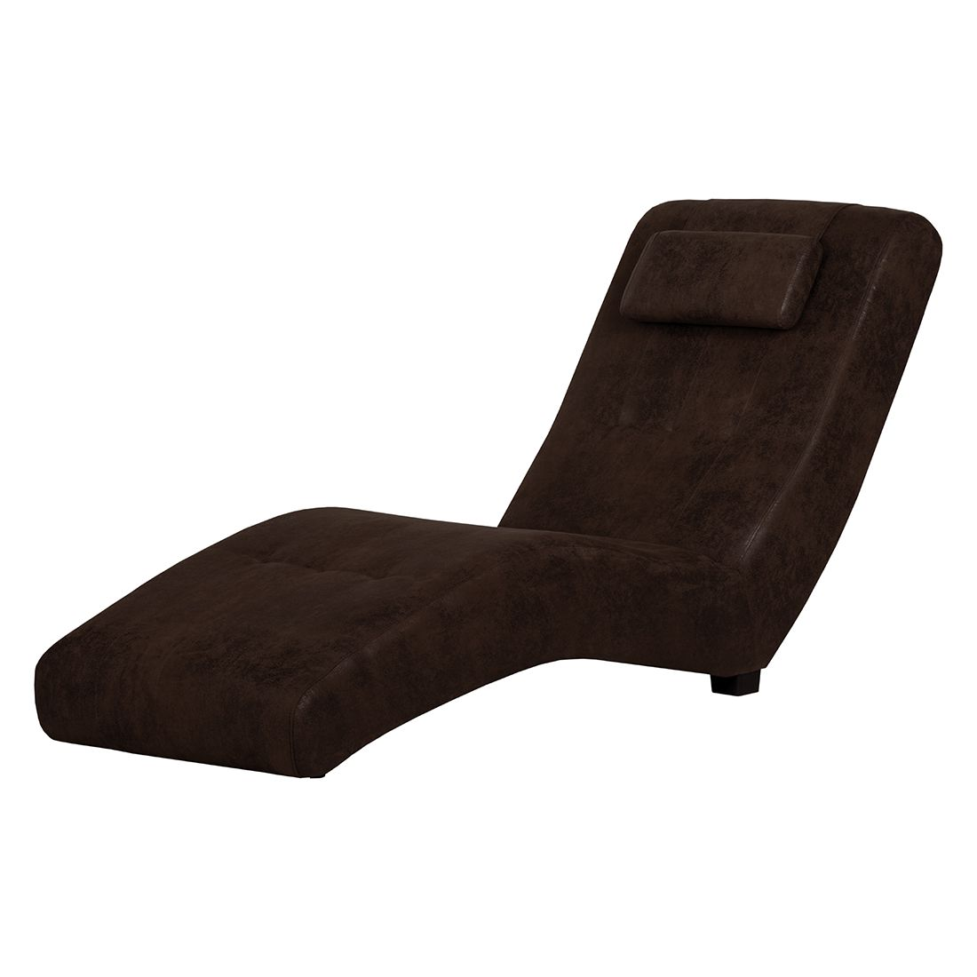 goedkoop Relaxstoel Ohara donkerbruine antiek leren look Red Living