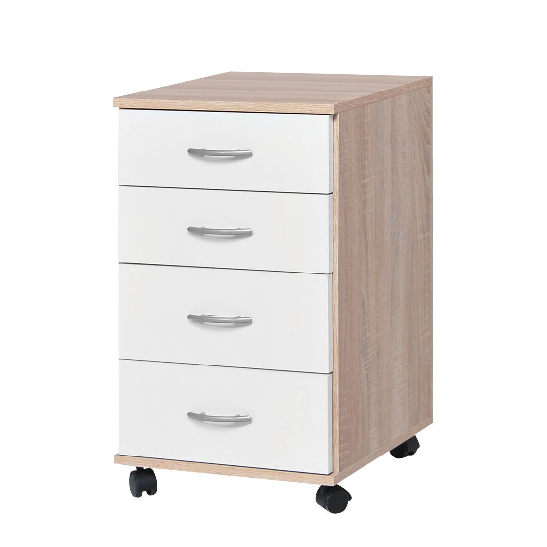 home24 Rollcontainer Dirk | Büro > Büroschränke > Rollcontainer | Beige | Holzwerkstoff | home24office