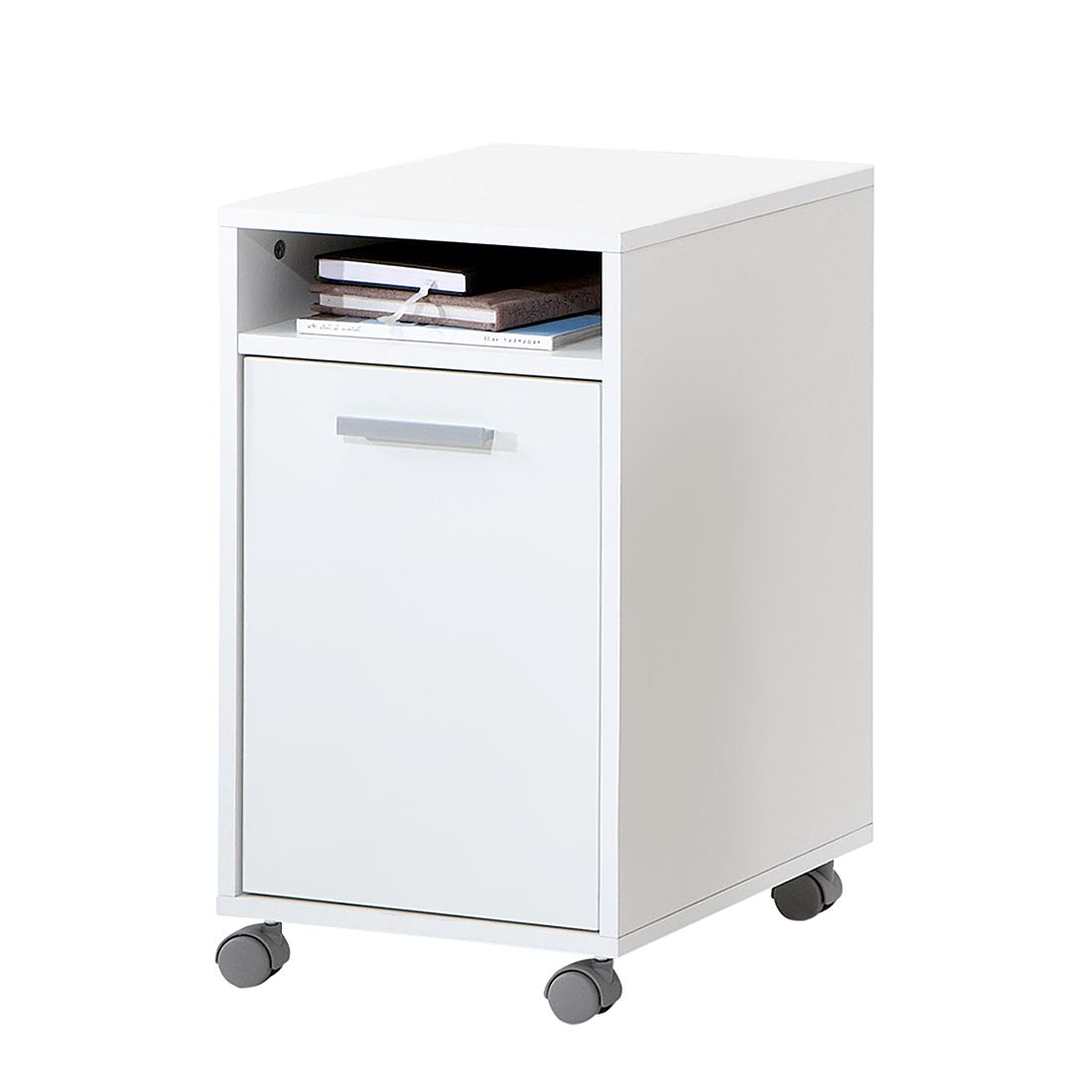 Cassettiera d'ufficio Lanius - Bianco, home24 office