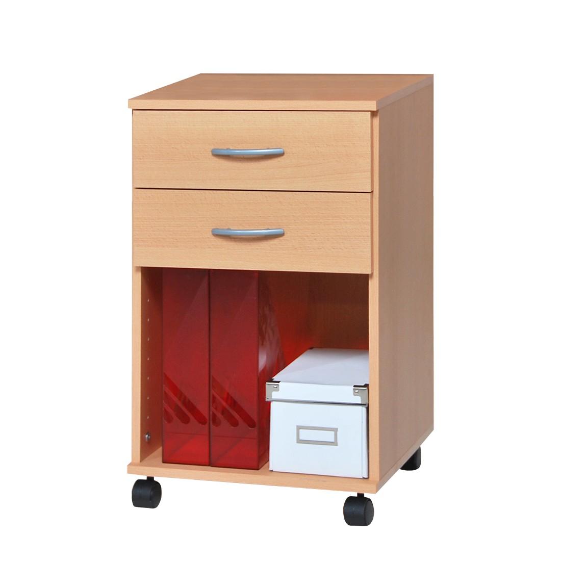 home24 Rollcontainer Mark   Büro > Büroschränke > Rollcontainer   Beige   Holzwerkstoff   home24office