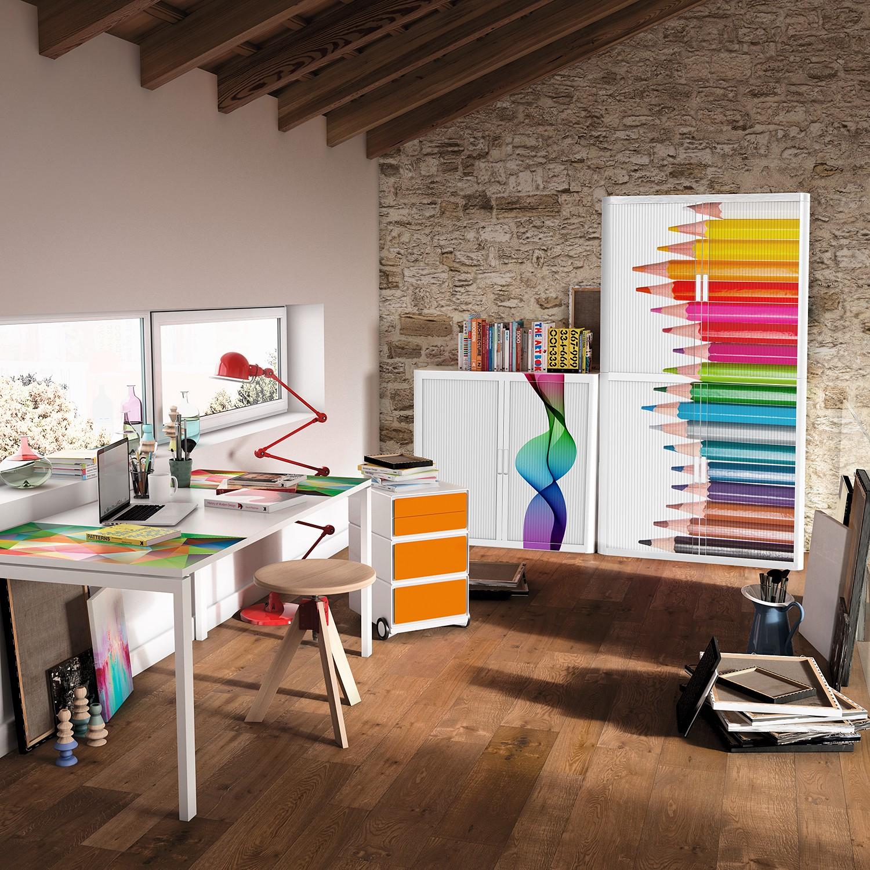 home24 Rollladenschrank easyOffice Bureaux I
