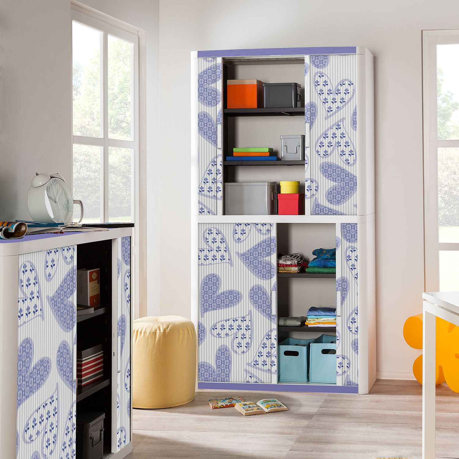 home24 Rollladenschrank easyOffice Enfants II | Büro | easyOffice by Paperflow