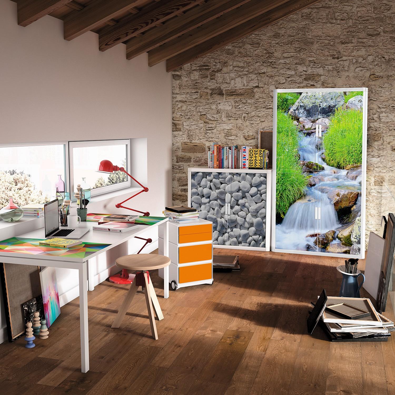 home24 Rollladenschrank easyOffice Nature III | Büro > Büroschränke | Kunststoff | easyOffice by Paperflow